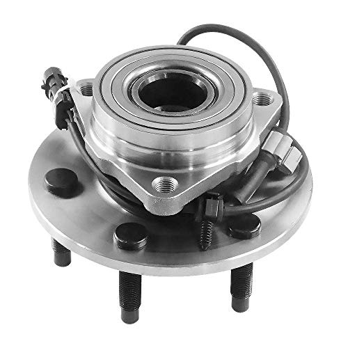 DRIVESTAR 4WD Only 515036 New Front Wheel Hubs & Bearings for Chevy GMC Truck 4x4 AWD - Wheel Yukon Denali Front Gmc