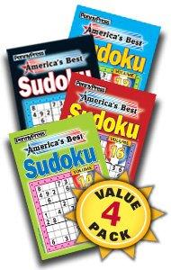 America's Best Sudoku-4 Pack