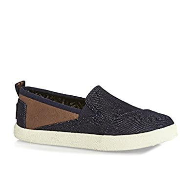 TOMS Kids Mens Avalon SlipOn Little KidBig Kid