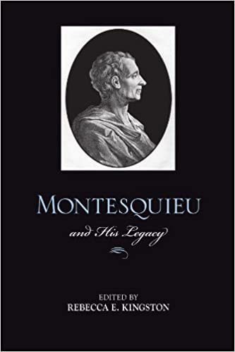 Have to write an essay on Montesquieu .. :( Help !?