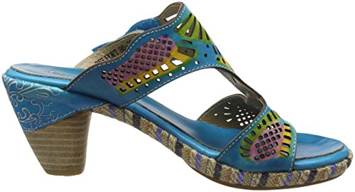 Belfort Turquoise Femme Turquoise Mules Turquoise Vita 86 Laura Zxw5TqvYpA