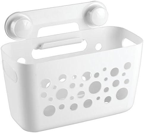 gro/ßes Netz zum Organisieren 2 Klebehaken waschmaschinenfest Spielzeugnetz zum H/ängen Organizer mit 2 Saugnapf-Haken Badewannen Spielzeug Aufbewahrungsnetz verhindert Schimmel an Spielzeugen