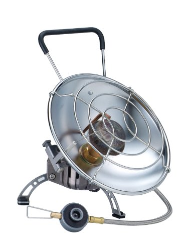 (Kovea Fire Ball Camping Heater, Small, Silver)
