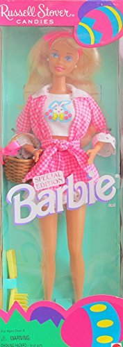 RUSSEL STOVER Candies BARBIE Doll SPECIAL EDITION w 'EASTER' BASKET (1995)