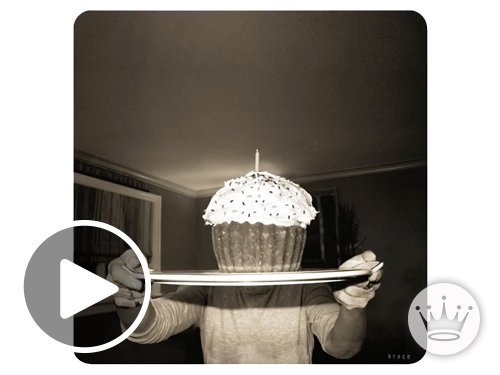 Giant Cupcake animated link image