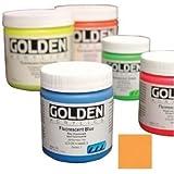 Liquitex Professional Soft Body Acrylic Paint  Oz Jar Fluorescent Orange
