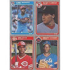 Amazoncom 1985 Fleer Baseball Complete Mint 660 Card Set Features