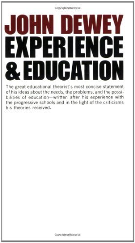 Experience And Education (Education Press)