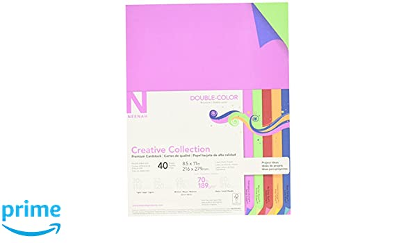 Amazon creative collection 98731 neenah paper acidlignin amazon creative collection 98731 neenah paper acidlignin free cardstock 70 lb 8 12 x 11 size double color 11 height 85 width 016 length fandeluxe Image collections