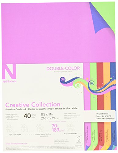(Creative Collection 98731 Neenah Paper Acid/Lignin Free Cardstock, 70 lb, 8-1/2