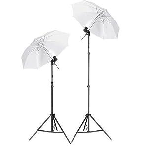 Continuous Lamp Bulb 5500K Photography Photo Umbrella: Amazon.co ...