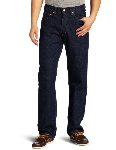 (Levi's Men's 550 Relaxed-fit Jean, Rinse,)