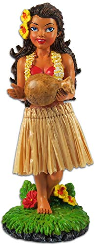 KC Hawaii Hinu IPU Hula Girl Dashboard Doll