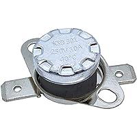 Interruptor térmico 40°C Contacto NC 250V 10A Cambio de temperatura termostato KSD301 Bimetal Protección térmica
