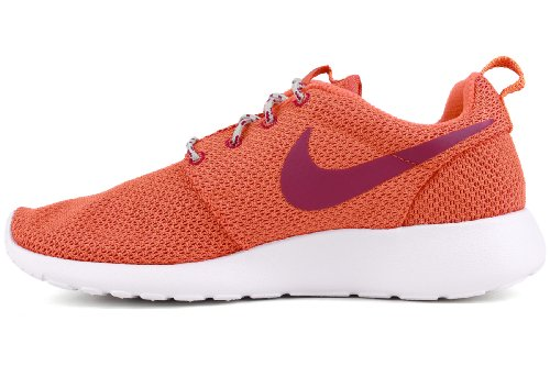 Nike Roshe One Winter Women Sneakers In Tela Tinta Unita Turf Orange / Brght Magenta-s Spry-white