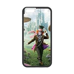 iPhone 6 plus 5.5 inch black phone case Alice in Wonderland Disney Maverick Fantasy Funny Terror Tease Magical YHNL797891472 Kimberly Kurzendoerfer