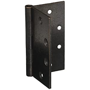 Baldwin 1045402I Square Mortise Hinge, Distressed Oil Rubbed Bronze