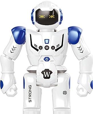 Hi-Tech Wireless Remote Control Robot Kids RC Robot Toy Senses Gesture, Sings, Dances for Boys, Girls, Kids, Children