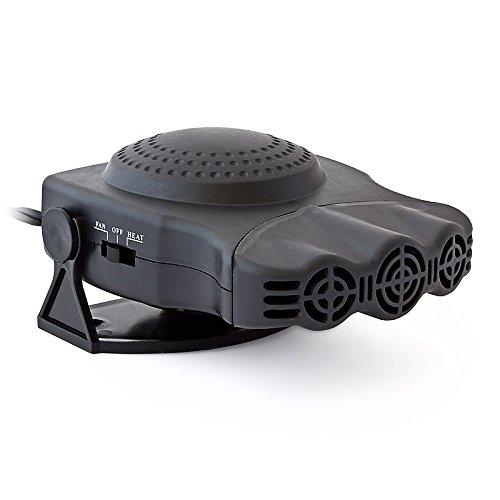 Relaxdays - Ventilador de aire caliente Calefactor 12 V Funciones independientes Con cable: Amazon.es: Bricolaje y herramientas