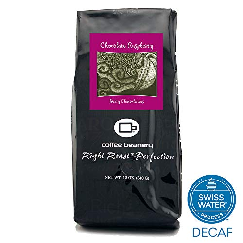 (Coffee Beanery Chocolate Raspberry Flavored Coffee SWP Decaf 12 oz. (Automatic Drip))