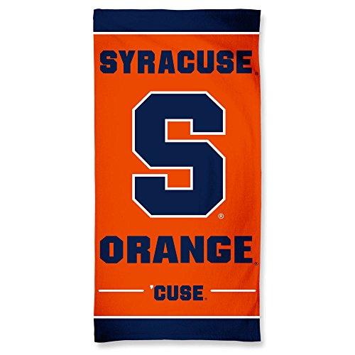 NCAA Syracuse Orange Fiber Beach Towel, 30 x 60-Inch by WinCraft