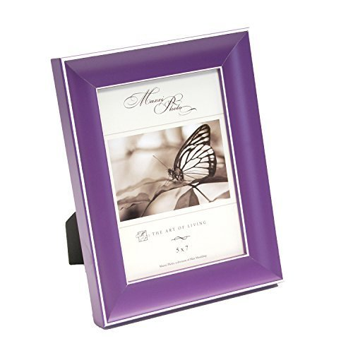maxxi-designs-photo-frame-with-easel-back-5-x-7-purple-rainbow-by-maxxi-designs