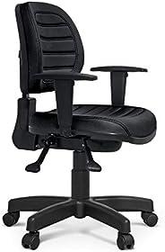 Cadeira Executiva Giratória Martiflex Internauta Premium NR17 N-INT6022PT25COPT Couríssimo Preto