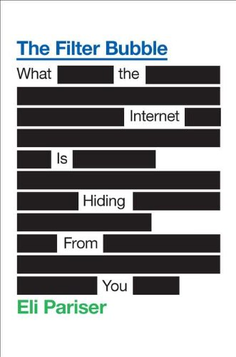 The Filter Bubble: What the Internet Is Hiding from You (Hardcover)-cover
