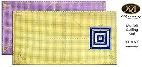 "Martelli 30"" x 60"" Extra Large Self-Healing Cutting Sewing Mat"