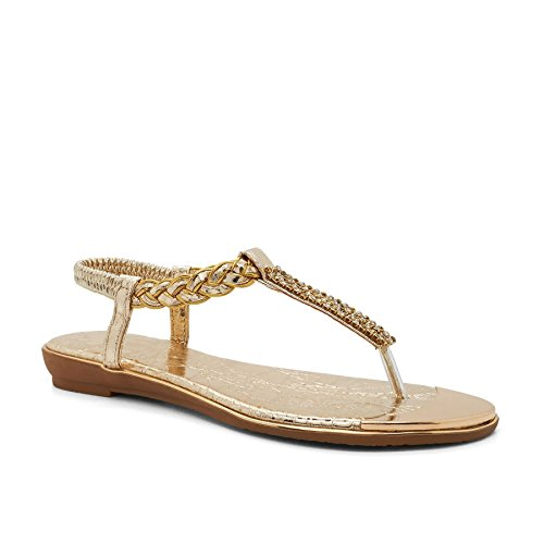 Gold Da London Calzature Sandali Vivienne Donna gxXxR