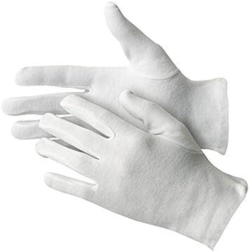Jah 3101 algodón Guante, que garantiza, nivel intermedio, color blanco, tamaño 9, 24 unidades): Amazon.es: Bricolaje y herramientas