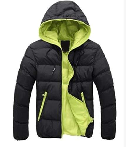 3 Warm Coat Winter Parka Fit Hoodie TTYLLMAO Jackets Zipper Casual Slim Men's fwYqR7nPp