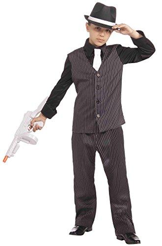 For Costumes Halloween Mafia (Forum Novelties Littlest Gangster Costume, Child)