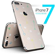 Colorful Cartoon Arrows Over Coral - Full-Body iPhone 7 Plus DesignSkinz // Slim / Ultra-Thin / Matte Finished / Protective Skin Wrap