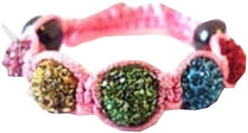 Shamballa-pulsera de perlas de, cristales checos