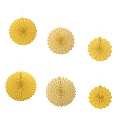 Yellow Pinwheel - 3
