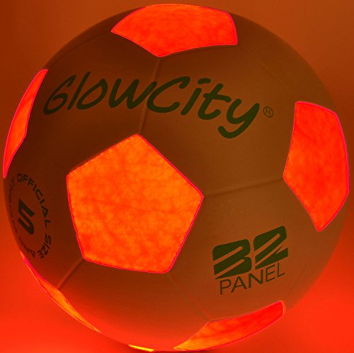 Light Up Sports Balls - GlowCity Light Up LED Soccer Ball
