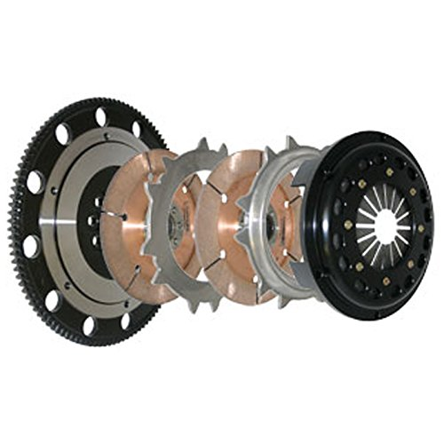 Competition Clutch 4-8026-C Clutch Kit(94-01 Acura Integra Race (1000whp) 7.25 inch Twin Disc ()