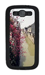 Colorful TPU Case Cover for Samsung Galaxy S3 and Samsung Galaxy I9300 Black
