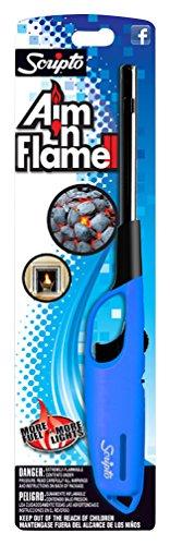 Scripto Multi Purpose Aim'n Flame II Lighter (Random Color)