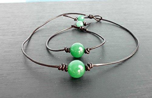 Jade Beaded Necklace - 1