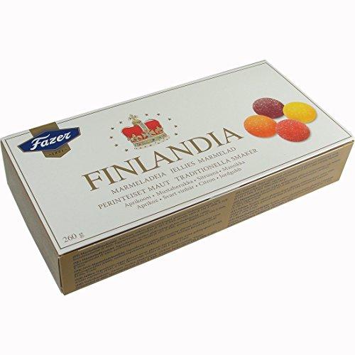 (Karl Fazer Finlandia Fruit Jellies 260 Gr or 9 Oz)