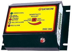 (DATAKOM DSD-060 Earthquake Shutdown Detector with seismic activity sensor)
