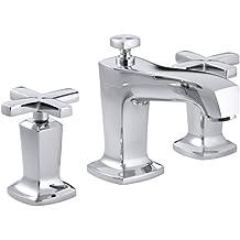 KOHLER K-16232-3-CP Margaux Widespread Lavatory Faucet, Polished Chrome