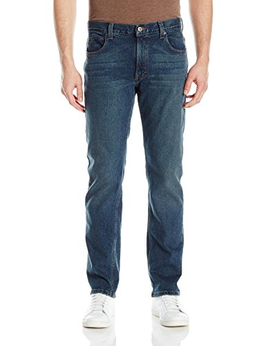 Dickies Men's Regular Straight 5-Pocket Jean, Tinted Wash Stretch Indigo, 42Wx32L