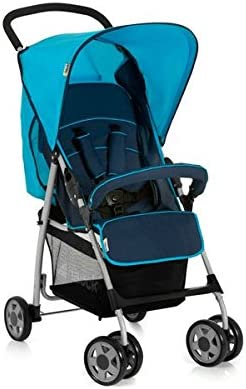 Safety 1st Buggy Taly Blau Stand Alone Ideal für eine Shopping Tour Faltbar