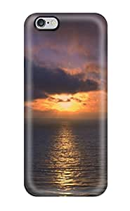 Hazel J. Ashcraft's Shop Lovers Gifts New Arrival Cover Case With Nice Design For Iphone 6 Plus- Sunset By The Ocean 2233473K54650734