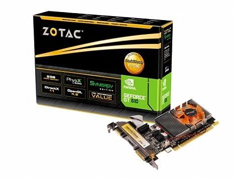 Zotac ZT-60601-10L GeForce GT 610 2GB GDDR3 - Tarjeta gráfica ...