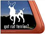 Got Rat Terrier? ~ Dog Vinyl Window Decal