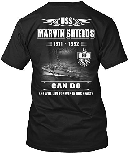 (Sigma Fores- USS Marvin Shields ff-1066-2 - T-Shirt - Get It Now! Black)